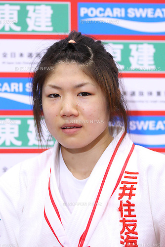 Misato Nakamura, APRIL 3, 2011 - Judo : All Japan Selected Judo Championships Women's -52kg at Fukuoka Convention Center, Fukuoka, Japan. (Photo by YUTAKA/AFLO SPORT) [1040].