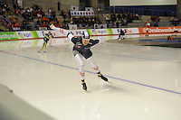 SPEED SKATING: CALGARY: Olympic Oval, 08-03-2015, ISU World Championships Allround,  Bram Smallenbroek (AUT), ©foto Martin de Jong
