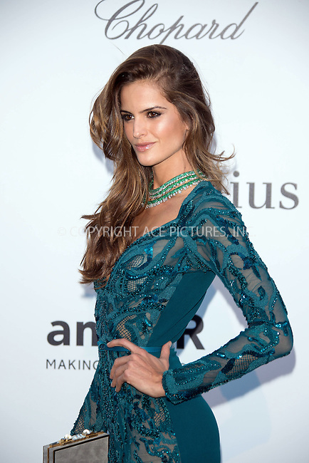 WWW.ACEPIXS.COM....US Sales Only....May 23 2013, New York City....Izabel Goulart at amfAR's Cinema Against AIDS Gala at the Hotel du Cap Eden Roc during the Cannes Film Festival on May 23 2013 in France....By Line: Famous/ACE Pictures......ACE Pictures, Inc...tel: 646 769 0430..Email: info@acepixs.com..www.acepixs.com
