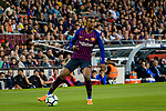 Nelson Semedo of FC Barcelona in action during the La Liga match between Barcelona and Real Sociedad at Camp Nou on May 20, 2018 in Barcelona, Spain. Photo by Vicens Gimenez / Power Sport Images