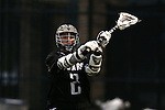 01 March 2015: Providence's Sean McGuire. The Duke University Blue Devils hosted the Providence College Friars on the West Turf Field at the Duke Athletic Field Complex in Durham, North Carolina in a 2015 NCAA Division I Men's Lacrosse match. Duke won the game 20-8.
