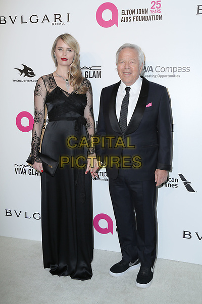 04 March 2018 - West Hollywood, California - Robert Kraft, Ricki Lander. 26th Annual Elton John Academy Awards Viewing Party held at West Hollywood Park. <br /> CAP/ADM/PMA<br /> &copy;PMA/ADM/Capital Pictures