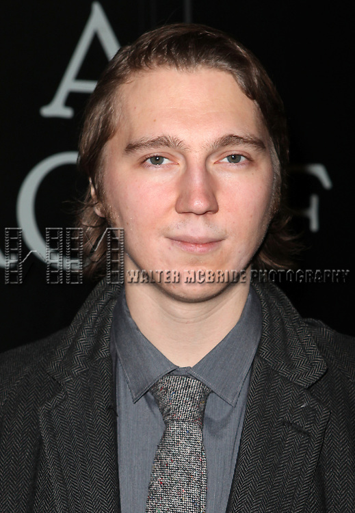 Paul Dano attending the Broadway Opening Night Performance of 'Cat On A Hot Tin Roof' at the Richard Rodgers Theatre in New York City on 1/17/2013