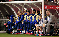 CARSON, CA - FEBRUARY 7: The United States bench during a game between Mexico and USWNT at Dignity Health Sports Park on February 7, 2020 in Carson, California.
