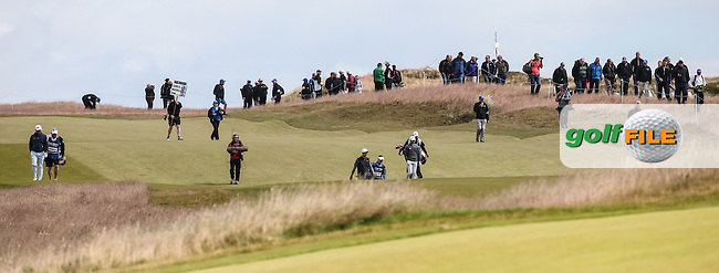 18th fairway  during the First Round of the 2016 Aberdeen Asset Management Scottish Open, played at Castle Stuart Golf Club, Inverness, Scotland. 07/07/2016. Picture: David Lloyd | Golffile.<br /> <br /> All photos usage must carry mandatory copyright credit (&copy; Golffile | David Lloyd)