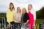 Dara Barrett, Niamh O'Dowd, Carol Butler, Emer O'Connell at the CBS Primary School Fashion Show at the Ballyroe Heights Hotel on Thursday night