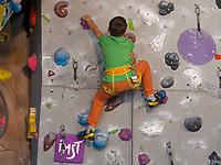 Halle, Kletterzentrum in Imst. Tirol, &Ouml;sterreich, Europa<br /> indoor, climbing centre, Imst, Tyrol, Austria, Europe