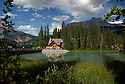 Emerald Lake Lodge in Yoho National Park, British Columbia, Canada