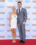 Anna Faris and Chris Pratt<br />  attends The Marvel Studios World Premiere GUARDIANS OF THE GALAXY held at The Dolby Theatre in Hollywood, California on July 21,2014                                                                               &copy; 2014Hollywood Press Agency