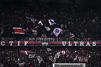 6th November 2019, Paris France; UEFA Champions league football, Paris St German versus Brugges;   SUPPORTERS display their banners