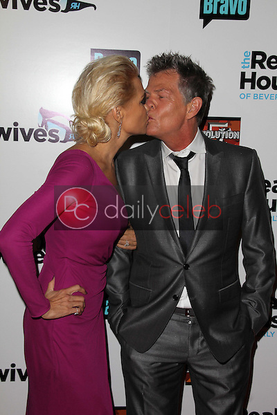 Yolanda H. Foster, David Foster<br /> at &quot;The Real Housewives of Beverly Hills&quot; Season Three Premiere Party, Roosevelt Hotel, Hollywood, CA 10-21-12<br /> David Edwards/DailyCeleb.com 818-249-4998