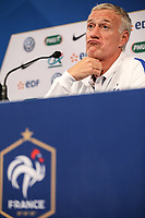 French Head Coach Didier Deschamps during the France National Team Press conference session ahead of the match with England tomorrow evening at Stade de France, Paris, France on 12 June 2017. Photo by David Horn / PRiME Media Images.