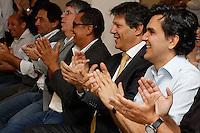 SÃO PAULO,SP, 06.11.2015 - HADDAD-SP - Prefeito Fernando Haddad e o Secretario de Educação Gabriel Chalita durante a inauguração da Escola Municipal de Educação Infantil Campo Limpo VI, no bairro do Jardim Catanduva, zona sul da cidade de São Paulo, nesta sexta-feira, 6. (Foto: Douglas Pingituro/Brazil Photo Press)