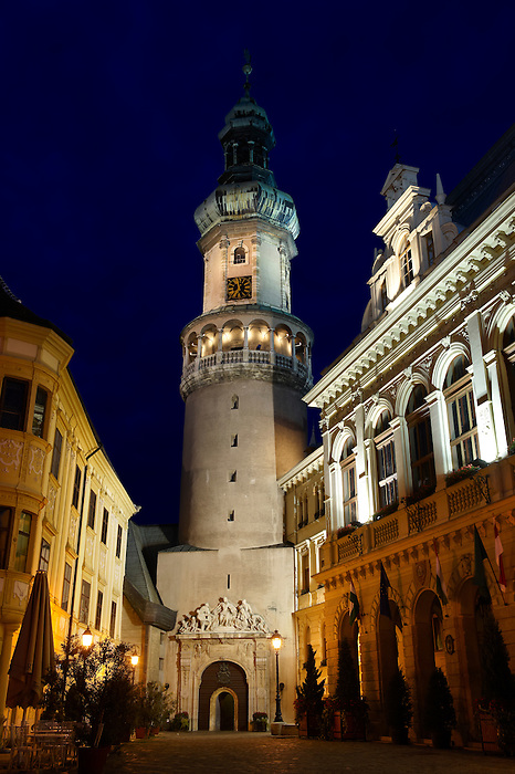 The Fire Tower (T?ztorony)- Sopron, Hungary