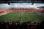 HOUSTON, TX - DECEMBER 11:  Stanford University takes on Wake Forest University during the Division I Men's Soccer Championship held at the BBVA Compass Stadium on December 11, 2016 in Houston, Texas.  Stanford defeated Wake Forest 1-0 in a penalty shootout for the national title. (Photo by Justin Tafoya/NCAA Photos via Getty Images)