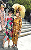 Zoe Hkayatt and Shannon McLean attends the Central Park Conservancy Hat Luncheon on May 2, 2018 in the Conservatory Garden in New York, New York, USA.<br /> <br /> photo by Robin Platzer/Twin Images<br />  <br /> phone number 212-935-0770