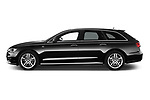 Car driver side profile view of a 2015 Audi A6 S Line 5 Door Wagon