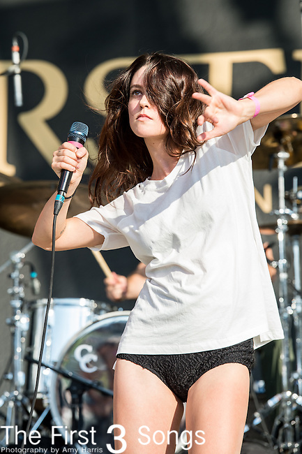 Meg Myers performs at the 2014 Bunbury Music Festival in Cincinnati, Ohio