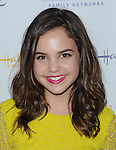 Bailee Madison arriving at Hallmark Movie Channel Presents 'The Color Of Rain' held at the Paley Center For Media Beverly Hills, CA. May 28, 2014.