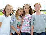 Ellen Shaw, Aoife Finglas, Kate Smith and Niamh McCullough pictured at Naomh Mairtin sports day. Photo: Colin Bell/pressphotos.ie