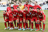 Osasuna's team photo during La Liga match.December 15,2012. (ALTERPHOTOS/Acero) /NortePhoto