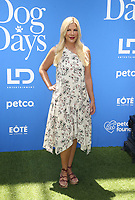 5 August 2018-  Century City, California - Tori Spelling. Premiere Of LD Entertainment's &quot;Dog Days&quot; held at Westfield Century City. <br /> CAP/ADM/FS<br /> &copy;FS/ADM/Capital Pictures