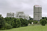 Demolition - Norfolk Park Flats