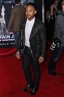 """HOLLYWOOD, LOS ANGELES, CA, USA - MARCH 13: Tahj Mowry at the World Premiere Of Marvel's """"Captain America: The Winter Soldier"""" held at the El Capitan Theatre on March 13, 2014 in Hollywood, Los Angeles, California, United States. (Photo by Xavier Collin/Celebrity Monitor)"""