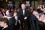 © Joel Goodman - 07973 332324 . 03/03/2016 . Manchester , UK . Winner Team of the Year Litigation (obo Eversheds ) SIMON CHAMBERLAIN (centre) . The Manchester Legal Awards from the Midland Hotel . Photo credit : Joel Goodman