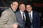 """F Murray Abraham, Terrence McNally and Tom Kirdahy attending the Broadway Opening Night Performance After Party for """"Mothers and Sons"""" at Sardi's Restaurant on March 24, 2014 in New York City."""