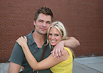 "Daniel Cosgrove ""Christopher Hughes"" & Terri Conn ""Katie Snyder"" - As The World Turns' shoots its last show on June 23, 2010 at the studios in Brooklyn, New York. (Photo by Sue Coflin/Max Photos)"