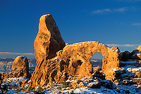 Turret Arch, Arches National Park, Utah.