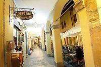 Osterie di via del Pratello a Bologna.<br /> Osterias in via del Pratello in Bologna.<br /> UPDATE IMAGES PRESS/Riccardo De Luca
