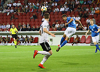 Artur Pikk (Estland, Estonia) klärt - 11.06.2019: Deutschland vs. Estland, OPEL Arena Mainz, EM-Qualifikation DISCLAIMER: DFB regulations prohibit any use of photographs as image sequences and/or quasi-video.