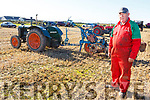 Aeneas Horan from Castleisland on a 1941 Ford Tractor at the Ardfert Ploughing Championship on Sunday.