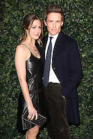 Hannah Bagshawe and Eddie Redmayne<br /> at the 2017 Charles Finch & CHANEL Pre-Bafta Party held at Anabels, London.<br /> <br /> <br /> ©Ash Knotek  D3227  11/02/2017