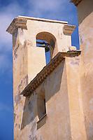 Europe/France/Corse/2B/Haute-Corse/Balagne/Calvi: La citadelle - Le clocher de l'église San Giovanni Batista