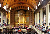 graduation at Woolsey Hall, Yale, New Haven, CT