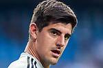 Goalkeeper Thibaut Courtois of Real Madrid reacts prior to the La Liga 2018-19 match between Real Madrid and CD Leganes at Estadio Santiago Bernabeu on September 01 2018 in Madrid, Spain. Photo by Diego Souto / Power Sport Images