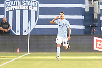Kansas City, KS - July 30, 2017: Sporting Kansas City defeated the Chicago Fire 3-2 in MLS action at Children's Mercy Park.