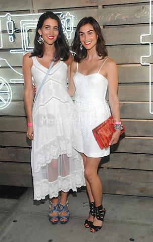 New York, NY- June 17: Jodie Snyder and Danielle Snyder attends the 2014 Summer Party presented by Coach at friends of the Highline at the  Highline on June 17, 2014 in New York City . Credit: John Palmer/MediaPunch