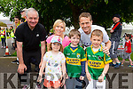 Con Scanlon, Ann Marie Daly,Paul Daly, Caoimhe Daly, Eoin Daly and Fionn Hannon at the Run in the Park on Saturday