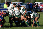 Manurewa forward pack prepare to pack down.  Counties Manukau Premier Club Rugby, Ardmore Marist vs Manurewa played at Bruce Pulman Park, Papakura on the 10th of June 2006. Ardmore Maris won 18 - 11.