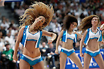 Real Madrid's cheerleaders during Liga Endesa ACB 1st Final match.June 9,2013. (ALTERPHOTOS/Acero)