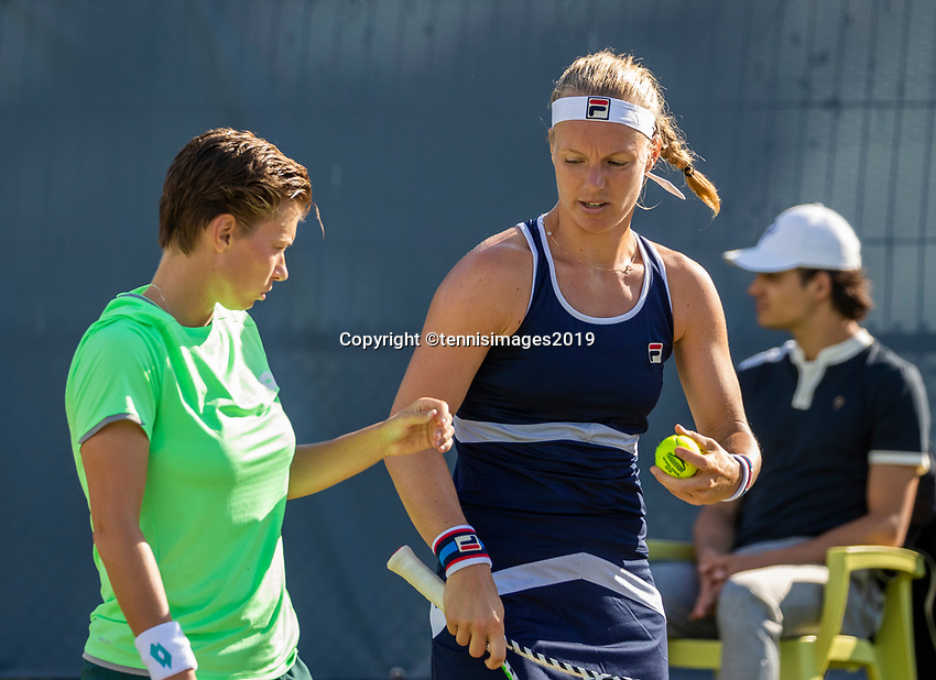 Rosmalen, Netherlands, 11 June, 2019, Tennis, Libema Open, Womans doubles: Kiki Bertens (NED) and Demi Schuurs (NED) (L)<br /> Photo: Henk Koster/tennisimages.com