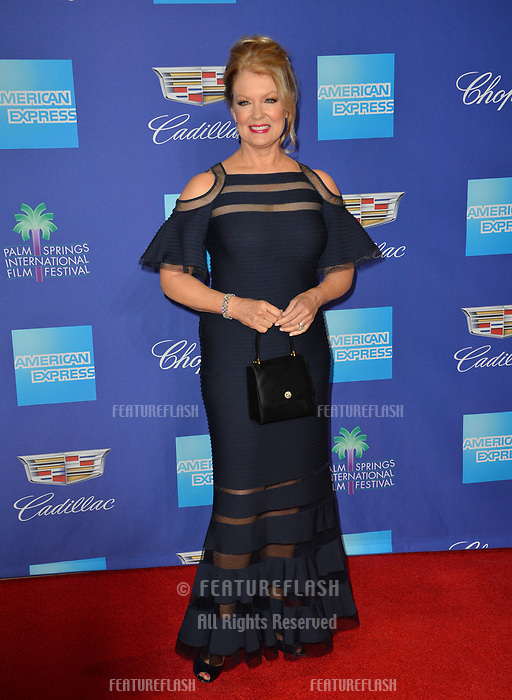 Mary Hart at the 2018 Palm Springs Film Festival Awards at Palm Springs Convention Center, USA 02 Jan. 2018<br /> Picture: Paul Smith/Featureflash/SilverHub 0208 004 5359 sales@silverhubmedia.com