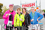 Taking part in the Duagh Tidy Towns fun run on Saturday were l-r Teresa Grimes, Teresa Keane, Catriona Daly and Stephen O'Connor