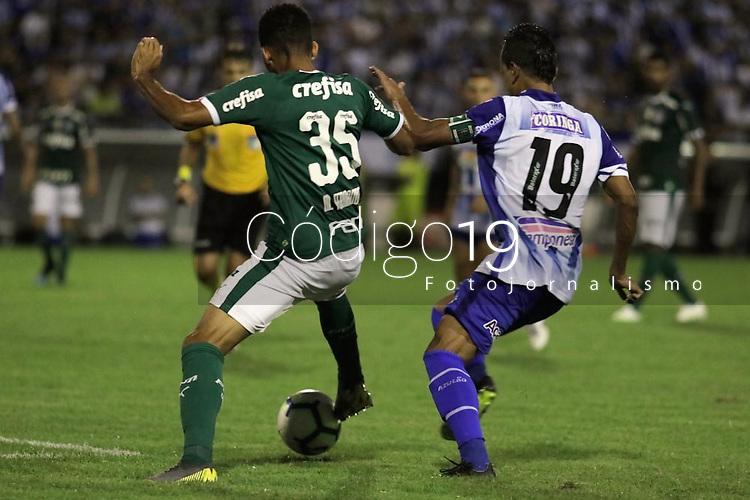 Maceió,AL,01.05.2018: CSA - PALMEIRAS - A partida entre CSA e Palmeiras válida pela segunda rodada da série A, nesta quarta-feira(01) no estádio Rei Pelé.(Foto: Rafael Vieira/Código19).