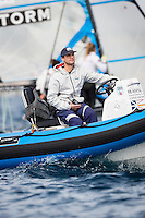 20140401, Palma de Mallorca, Spain: SOFIA TROPHY 2014 - 850 sailors from 50 countries compete at the ISAF Sailing World Cup event. Josh Adams. Photo: Mick Anderson/SAILINGPIX.