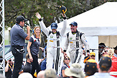 IMSA WeatherTech SportsCar Championship<br /> Chevrolet Sports Car Classic<br /> Detroit Belle Isle Grand Prix, Detroit, MI USA<br /> Saturday 3 June 2017<br /> 93, Acura, Acura NSX, GTD, Andy Lally, Katherine Legge<br /> World Copyright: Richard Dole<br /> LAT Images<br /> ref: Digital Image RD_DTW_17_0384